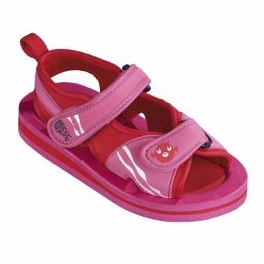 Meisjes roze watersandalen / waterschoenen voor baby / peuter