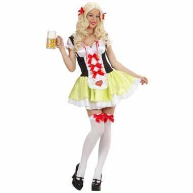 Meisjes tiroler biermeisje kostuum ulrike