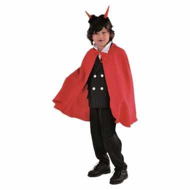 Meisjes vampier kostuums cape rood