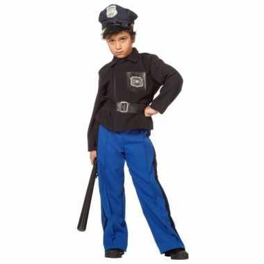 Meisjes verkleedkleding politie kind