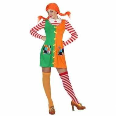 Meisjes zweeds sterk meisje kostuum voor dames