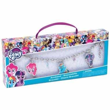 My little pony bedelarmband voor meisjes