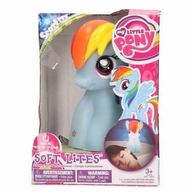 My little pony nachtlampje rainbow dash 15 cm voor meisjes