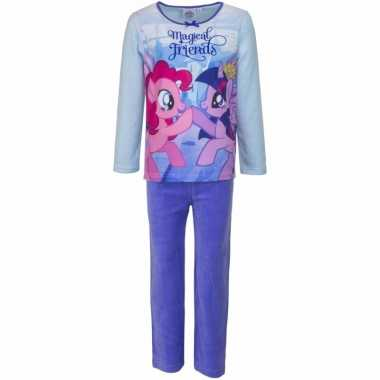 My little pony pyjama magical friends paars voor meisjes