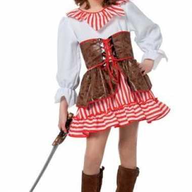 Piraat jurkje voor meisjes