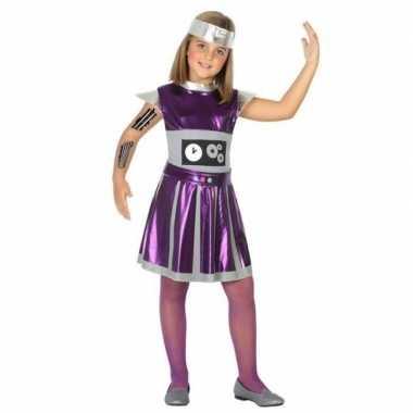Robot verkleed jurk/jurkje voor meisjes
