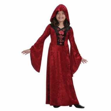 Rood halloween jurkje gothic voor meisjes