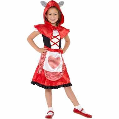 Roodkapje kostuum voor meisjes 10099412