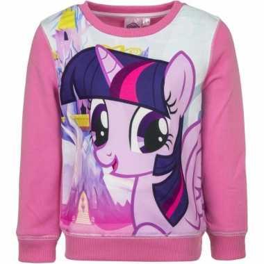 Roze my little pony sweater voor meisjes