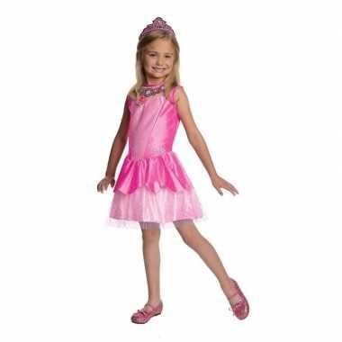 Roze prinsesen jurkje voor meisjes
