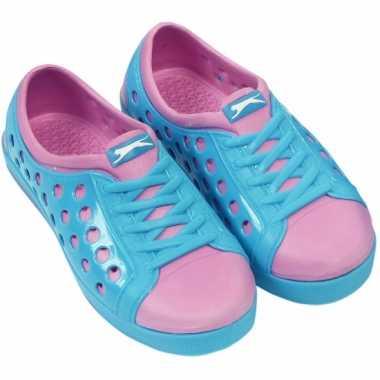 Slazenger waterschoenen voor meisjes blauw roze