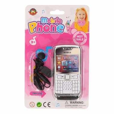 Speelgoed telefoon roze voor meisjes
