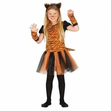 Tijger verkleedjurkje voor meisjes