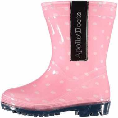 Voordelige meisjes regenlaarzen roze