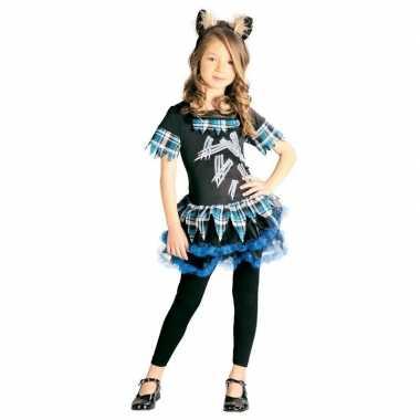 Weerwolf verkleedkostuum voor meisjes weerwolvenpak