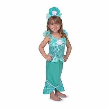 Zeemeermin verkleed set meisjes