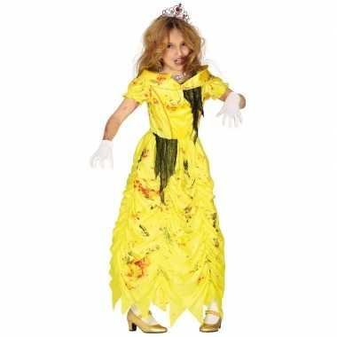 Zombie prinses belle verkleedkostuum voor meisjes prinsessenjurk