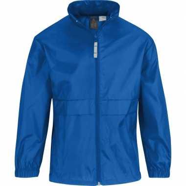 Zomerjasje windjas kobaltblauw voor meisjes