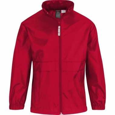 Zomerjasje windjas rood voor meisjes