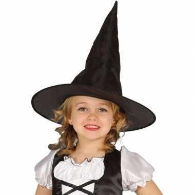 Zwarte heksenhoed beryl voor meisjes