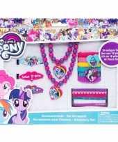 18x my little pony haaraccessoires sieraden set voor meisjes