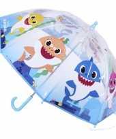 Baby shark kinderparaplu voor meisjes 71 cm
