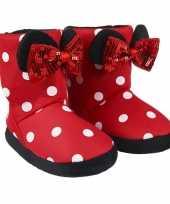 Disney minnie mouse 3d sloffen pantoffels voor meisjes