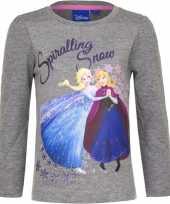 Frozen shirt grijs voor meisjes