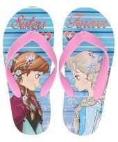 Frozen teenslippers anna en elsa sisters forever voor meisjes
