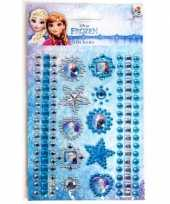Meisjes anna en elsa sticker diamanten