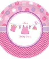 Meisjes geboorte meisje bordjes baby girl