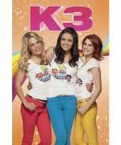 Meisjes grote deurposter van k3