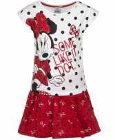 Minnie mouse rood rokje met-shirt meisjes
