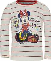 Minnie mouse t-shirt wit rood voor meisjes