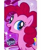 My little pony pinkie pie fleece deken plaid voor meisjes