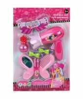 Speelset beautysalon roze voor meisjes 10097790